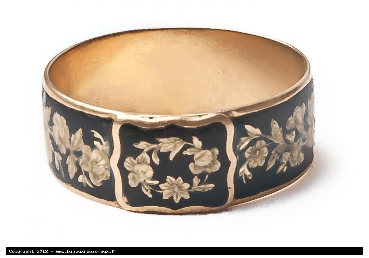 Bague emaux bijoux
