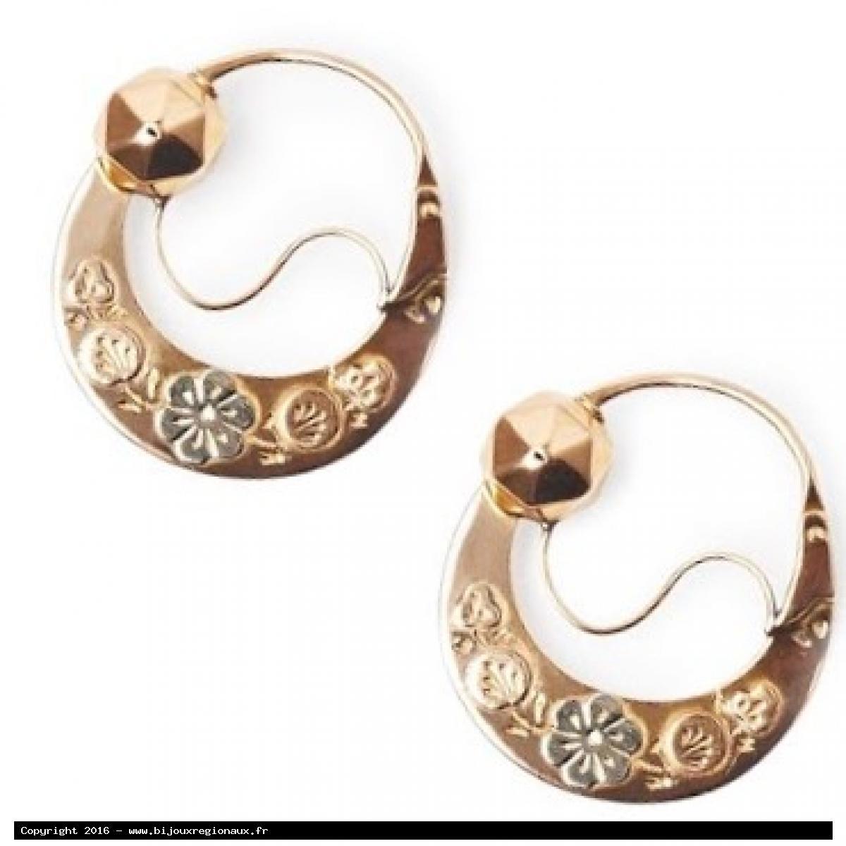 Bijoux regionaux boucles et pendants d 39 oreilles - Poussette de boucle d oreille ...